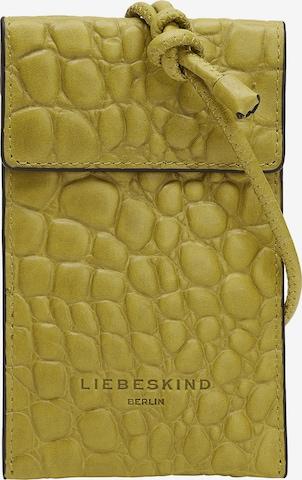 Protection pour smartphone Liebeskind Berlin en jaune