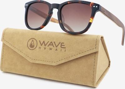 Wave Hawaii Sonnenbrille 'Chiclana' + Etui in karamell / kastanienbraun / schwarz, Produktansicht