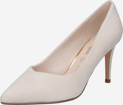 BUFFALO Официални дамски обувки 'FANNY4' в кремаво: Изглед отпред