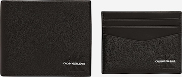 Calvin Klein Jeans Portmonetka w kolorze czarny