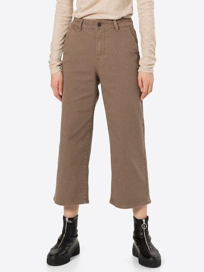 OBJECT Jeans in de kleur Bruin, Modelweergave