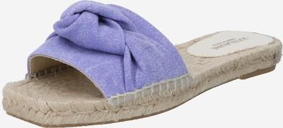 JUTELAUNE Pantolette in lila, Produktansicht