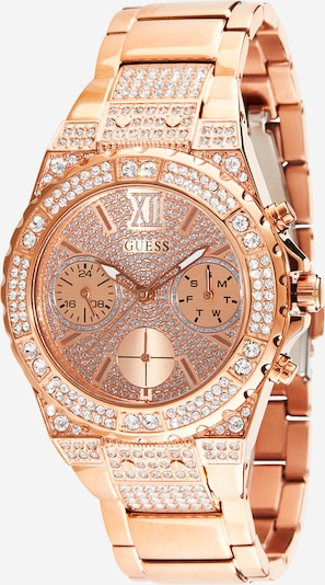 GUESS Uhr 'LADIES SPORT' in rosegold, Produktansicht