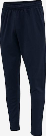 Hummel Pantalon de sport en noir, Vue avec produit