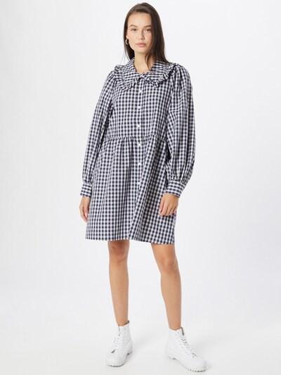 LEVI'S Kleid 'MIRA' in schwarz / weiß, Modelansicht