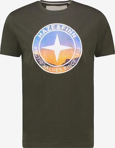 Haze&Finn Haze&Finn T-shirt in grün, Produktansicht