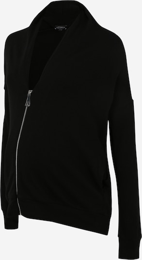 Geacă tricotată Attesa pe negru, Vizualizare produs