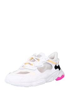 ADIDAS ORIGINALS Sneaker 'OZWEEGO' in portocaliu / negru / alb