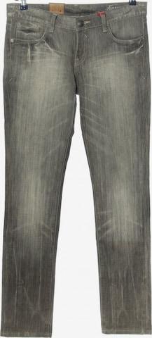 Tribeca New York Straight-Leg Jeans in 30-31 in Grau