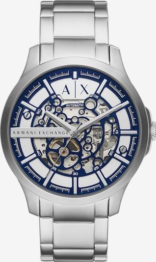 ARMANI EXCHANGE Uhr in marine / silber, Produktansicht