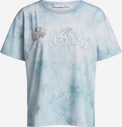OUI T-Shirt in hellblau / grau / weiß, Produktansicht