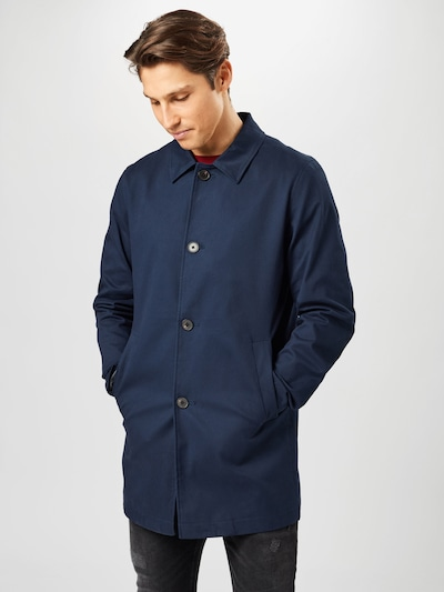 JACK & JONES Between-seasons coat in navy, View model