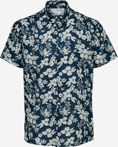 SELECTED HOMME Skjorte i mørkeblå / hvid, Produktvisning