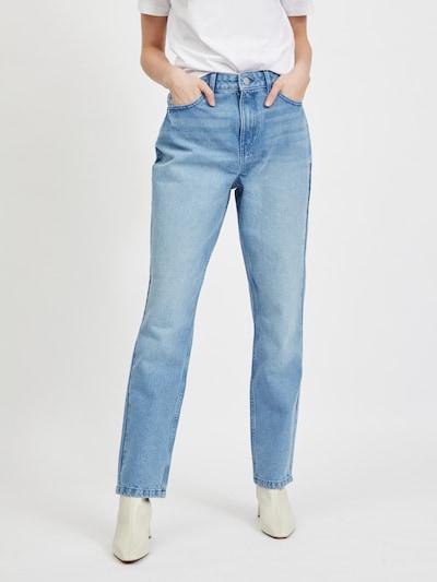VILA Jeans 'Stray Elisa' in de kleur Blauw denim, Modelweergave