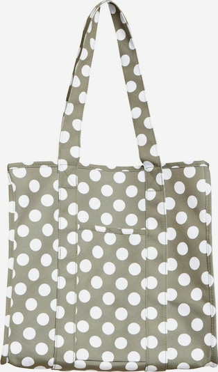 OBJECT Shopper in brokat / weiß, Produktansicht