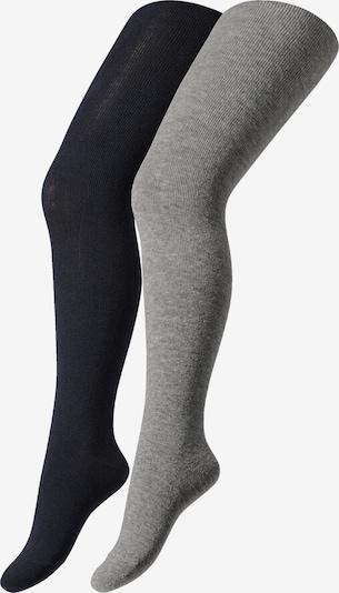 camano Strumpfhose in grau / schwarz, Produktansicht