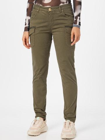 Pantalon cargo 'Camille' MOS MOSH en vert