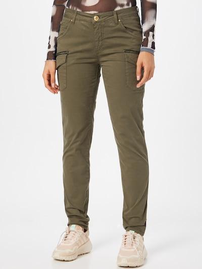 khaki MOS MOSH Cargo nadrágok 'Camille', Modell nézet