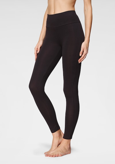 LASCANA Leggings in schwarz, Modelansicht