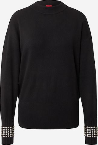 HUGO Pullover 'Sarabathy' in Schwarz