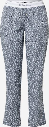 Calvin Klein Underwear Pyjamabroek in de kleur Grijs / Zwart / Wit, Productweergave