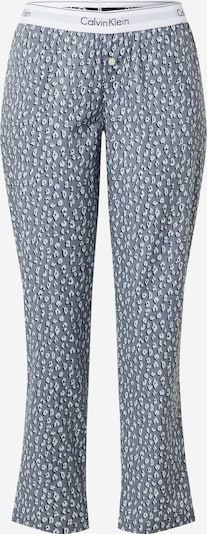 Calvin Klein Underwear Pyjamasbyxa i grå / svart / vit, Produktvy