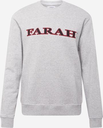 FARAH Sweatshirt 'PALM' in Grey