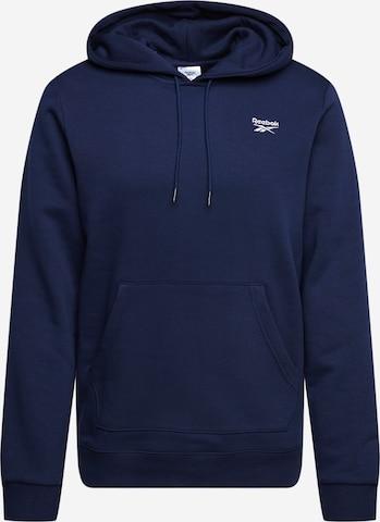 Reebok Sport Αθλητική μπλούζα φούτερ σε μπλε