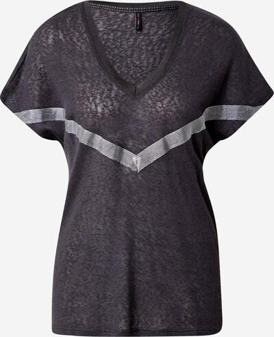 ONLY Tričko 'Rita' - tmavě šedá / stříbrná, Produkt