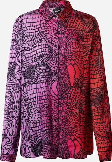 Just Cavalli Blouse in de kleur Pink / Rood / Zwart, Productweergave