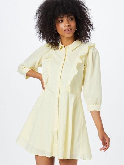 Pimkie Robe-chemise en jaune clair: Vue de face