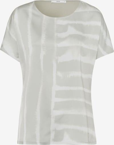 BRAX Shirt 'Caelen' in de kleur Grijs / Wit, Productweergave