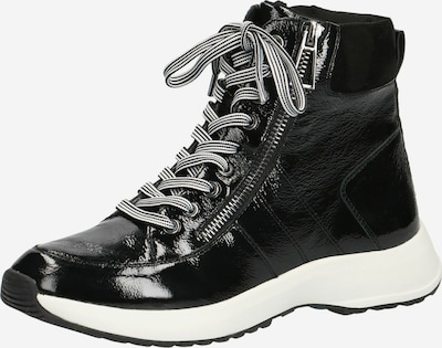 CAPRICE High-Top Sneakers in Black / White, Item view