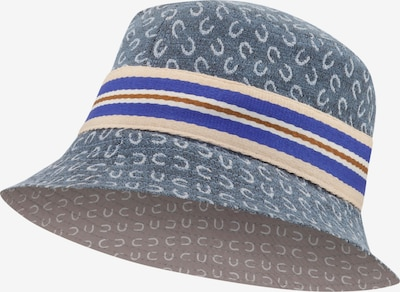 CODELLO Hut in beige / hellblau / weiß, Produktansicht