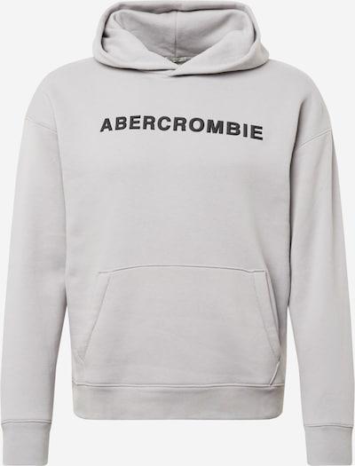 Abercrombie & Fitch Sweatshirt in hellgrau / schwarz, Produktansicht