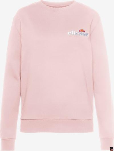 ELLESSE Sweatshirt 'Triome' in orange / rosa / rot / weiß, Produktansicht