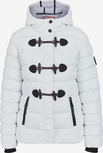 BRAVE SOUL Übergangsjacke 'LJK-PENTAGON' in schwarz / weiß, Produktansicht