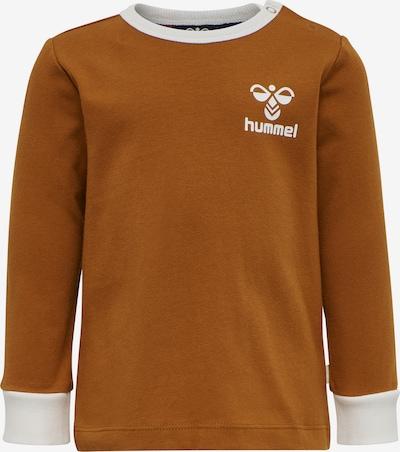 Hummel Functioneel shirt in de kleur Bruin, Productweergave