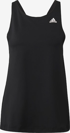 ADIDAS PERFORMANCE Sports top in black, Item view