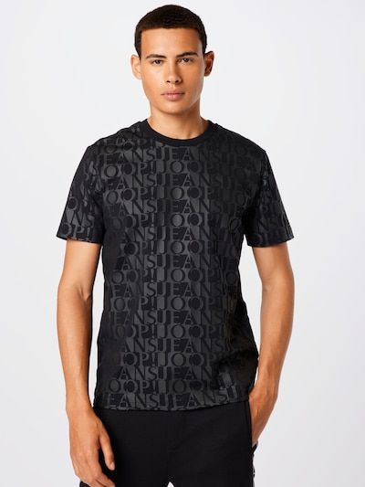 JOOP! Jeans T-Shirt in anthrazit / schwarz: Frontalansicht