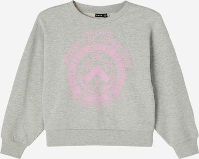 NAME IT Sweat-shirt en gris clair, Vue avec produit