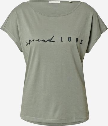 Marc O'Polo T-Shirt in Grün