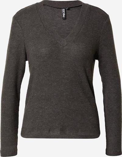 PIECES Shirt 'CIRCLE' in Dark grey, Item view