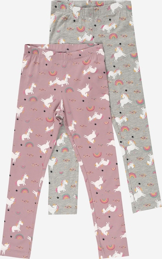 Guppy Leggings 'LALA' in mottled grey / Light purple / Mixed colors, Item view