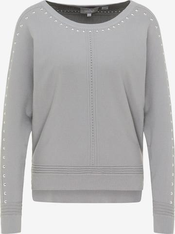 Usha Strickpullover in Grau
