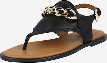 See by Chloé T-Bar Sandals 'Mahe' in Black