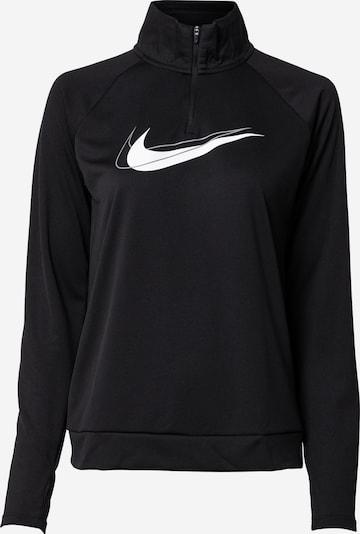 NIKE Athletic Sweatshirt in Grey / Black / White, Item view