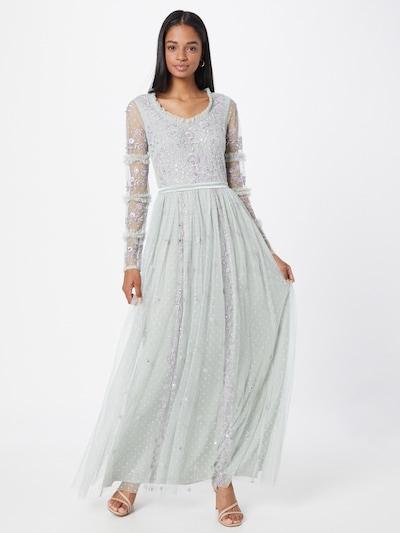 Frock and Frill Kleid in azur / flieder, Modelansicht