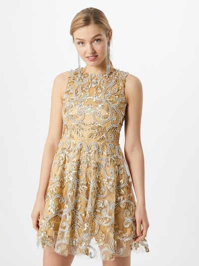 A STAR IS BORN Kokteilové šaty - telová / zlatá / strieborná, Model/-ka