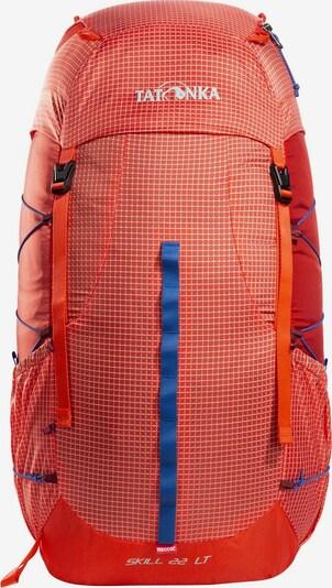 TATONKA Sac à dos en bleu / gris / rouge orangé, Vue avec produit